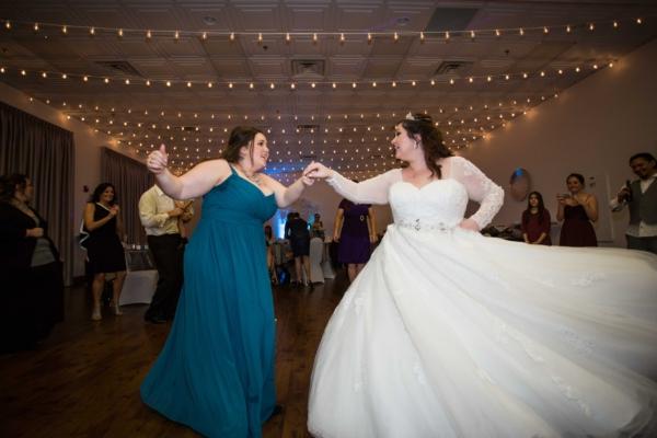 planning a wedding, Dancing bride