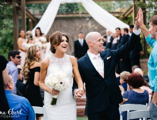 Beautiful Outdoor Wedding in a Garden of Las Vegas