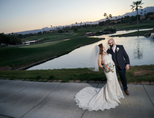 Luxurious golf course wedding with a special touch